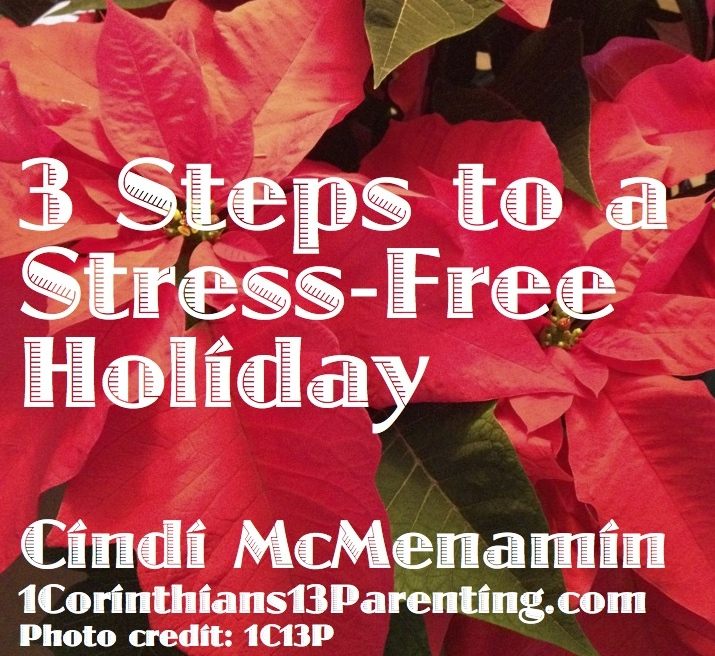 3 Steps to a Stress-Free Holiday
