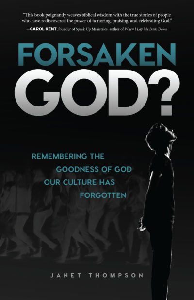 Forsaken God book cover