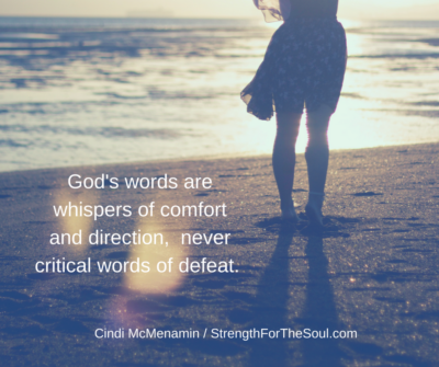 God's Words of Confidence