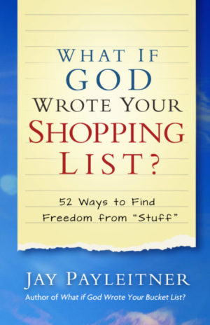 What if God Wrote Your Shopping List