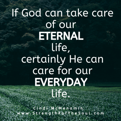 God can provide for our everyday life